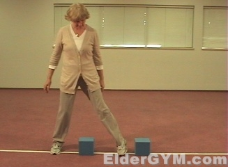 Falls And The Elderly And Seniors; Stepping Exercises ...