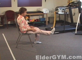 knee extension moving position