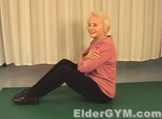 Back Strengthening Exercise For Seniors And The Elderly
