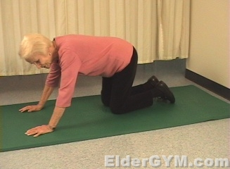 leg extension starting position