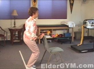 Partial Squat move