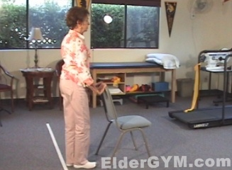 Standing Knee Flexion Starting Position