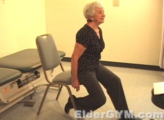 Ankle Stretching start