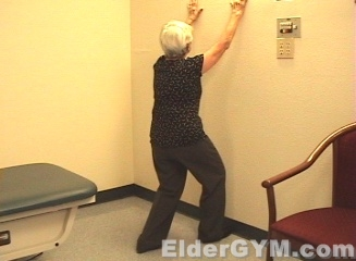 Flexibility stretching exercise start