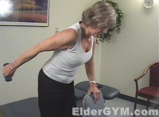 Arm Workouts For Seniors And The Elderly Tricep Kickbacks